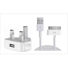 Original Apple iPhone Charger for iPhone 4 & 4S FREE P&P