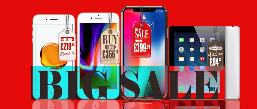big sale iPhone