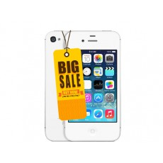 Used Apple iPhone 4S 8GB UNLOCKED Only £14.95+ Free Case