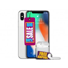 Used Apple iPhone X 64GB Unlocked Now £299.95 + Free AirPods